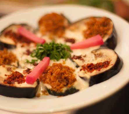 Hiba Express aubergine dish