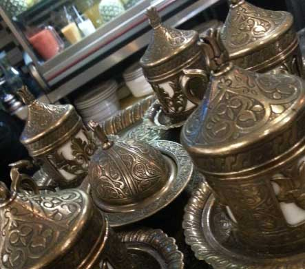 Middle Eastern teapots